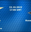 Lazio vs Rosenberg @ Roma 22.10 Europa League