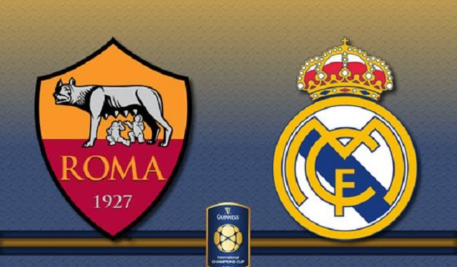 Partido-AS-Roma-vs-Real-Madrid-CF