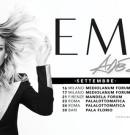 "EMMA ""ADESSO TOUR 2016 "" @ 04.10.2016 Eboli – 10.10.2016 Napoli"
