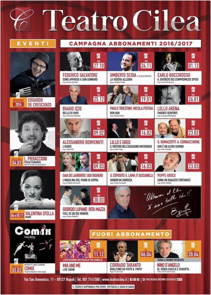 TEATRO CILEA 2016-2017
