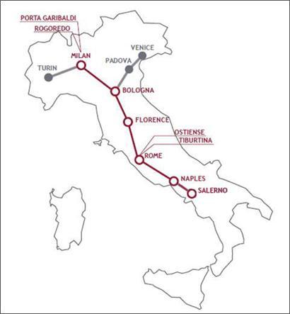 Treni Italo Trenitalia Tkt Point