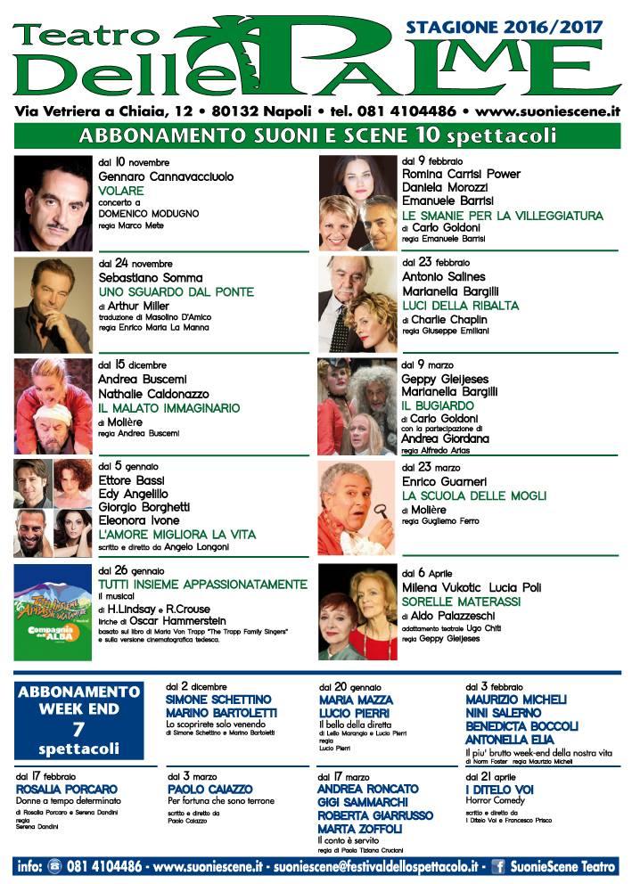 Teatro Delle Palme Stagione 2016-17