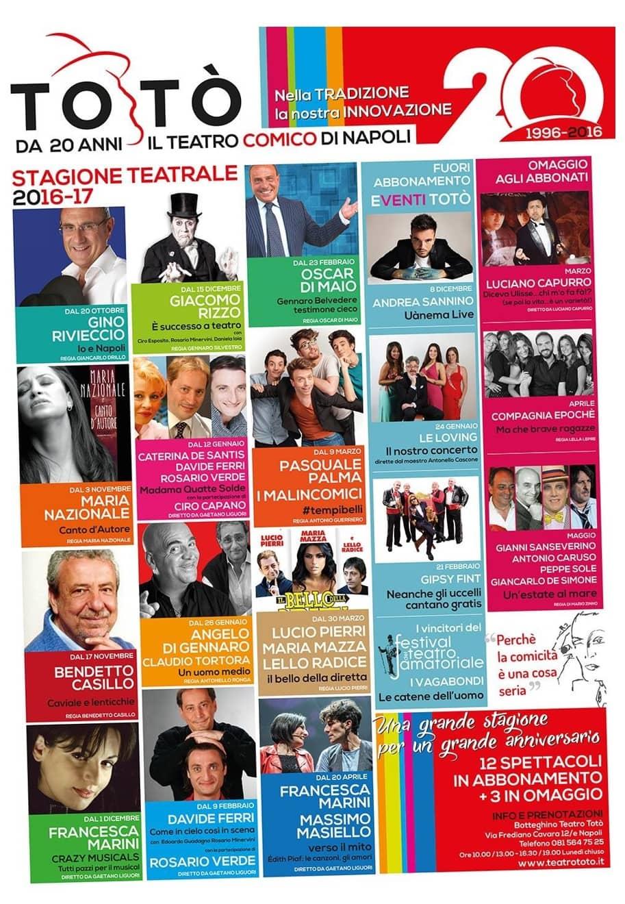 Teatro Totò Stagione 2016-17