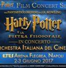 Harry Potter e la Pietra Filosofale – 2/3 Giugno 2017 – Arena Flegrea di Napoli