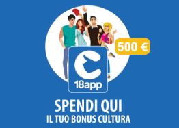 Bonus Cultura Giovani - 18 App - TKT Point