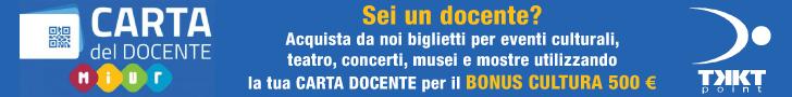 Bonus Carta Docente - Concerti Teatro Eventi Sport