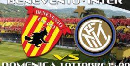 Benevento vs Inter – Domenica 1 Ottobre 2017 ore 15.30 @ Stadio Ciro Vigorito – Benevento