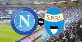 Napoli vs Spal – Domenica 18 Febbraio 2018 – ore 15:00 @Stadio San Paolo – Napoli