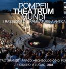PompeiiTheatrumMundi 2018 @ Teatro Grande – Scavi di Pompei