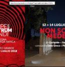 Non solo Medea -PompeiiTheatrumMundi @ Teatro Grande – Scavi di Pompei