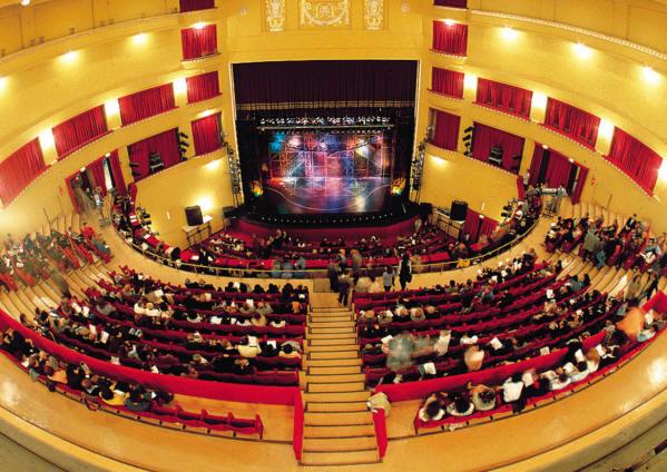 Risultati immagini per teatro augusteo  foto