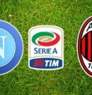 Napoli vs Milan – 25 Agosto 2018 @ Stadio San Paolo – Napoli – SETTORE OSPITI