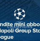 Mini Abbonamenti Champions – Calcio Napoli @ Stadio San Paolo