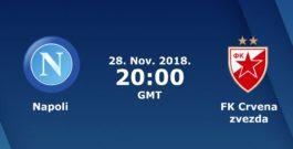 SSC Napoli vs FK Crvena Zvedza – 28 Novembre 2018 @ Stadio San Paolo –