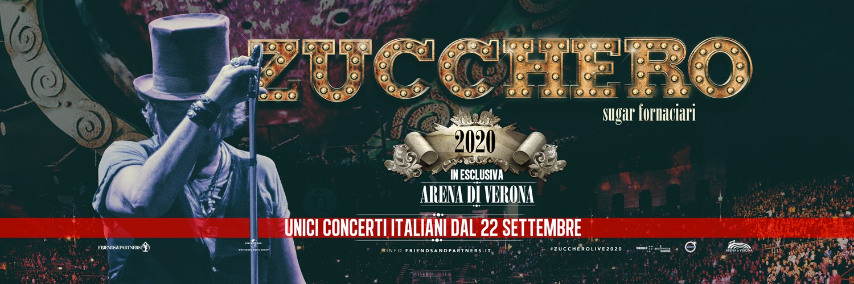 Calendario Arena Verona 2020.Zucchero Settembre E Ottobre 2020 Arena Di Verona Tkt