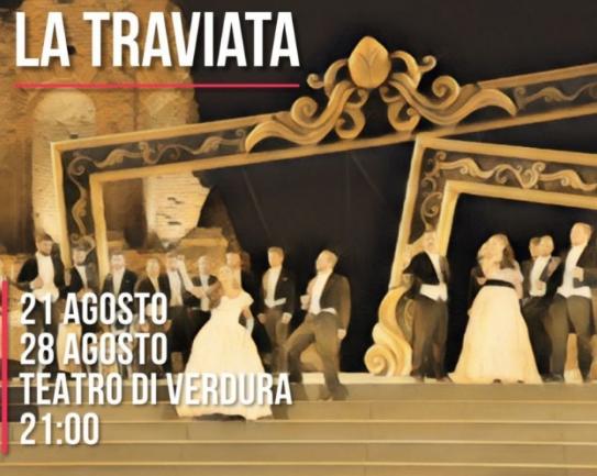 Teatro Di Verdura Calendario 2020.La Traviata 21 Agosto 2019 Teatro Di Verdura Palermo