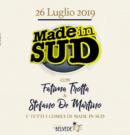 Made in Sud- 26.07.2019 @ Belvedere di San Leucio – Caserta
