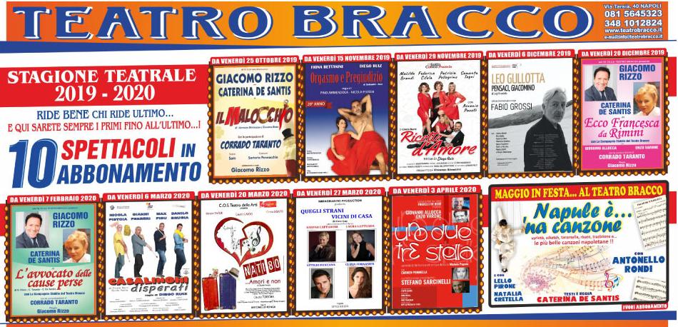 Polito Calendario 2020.Teatri Napoli Programmazione Date Titoli E Locandine