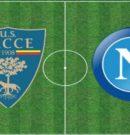 Lecce vs SSC Napoli – 22 Settembre 2019 @Stadio del Mare – Lecce