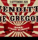 Bus Venditti&De Gregori – 05 Settembre @Stadio Olimpico – Roma